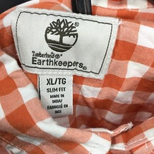 Timberland Shirts - Timberland Earthkeepers Gingham Button Up Slim Fit